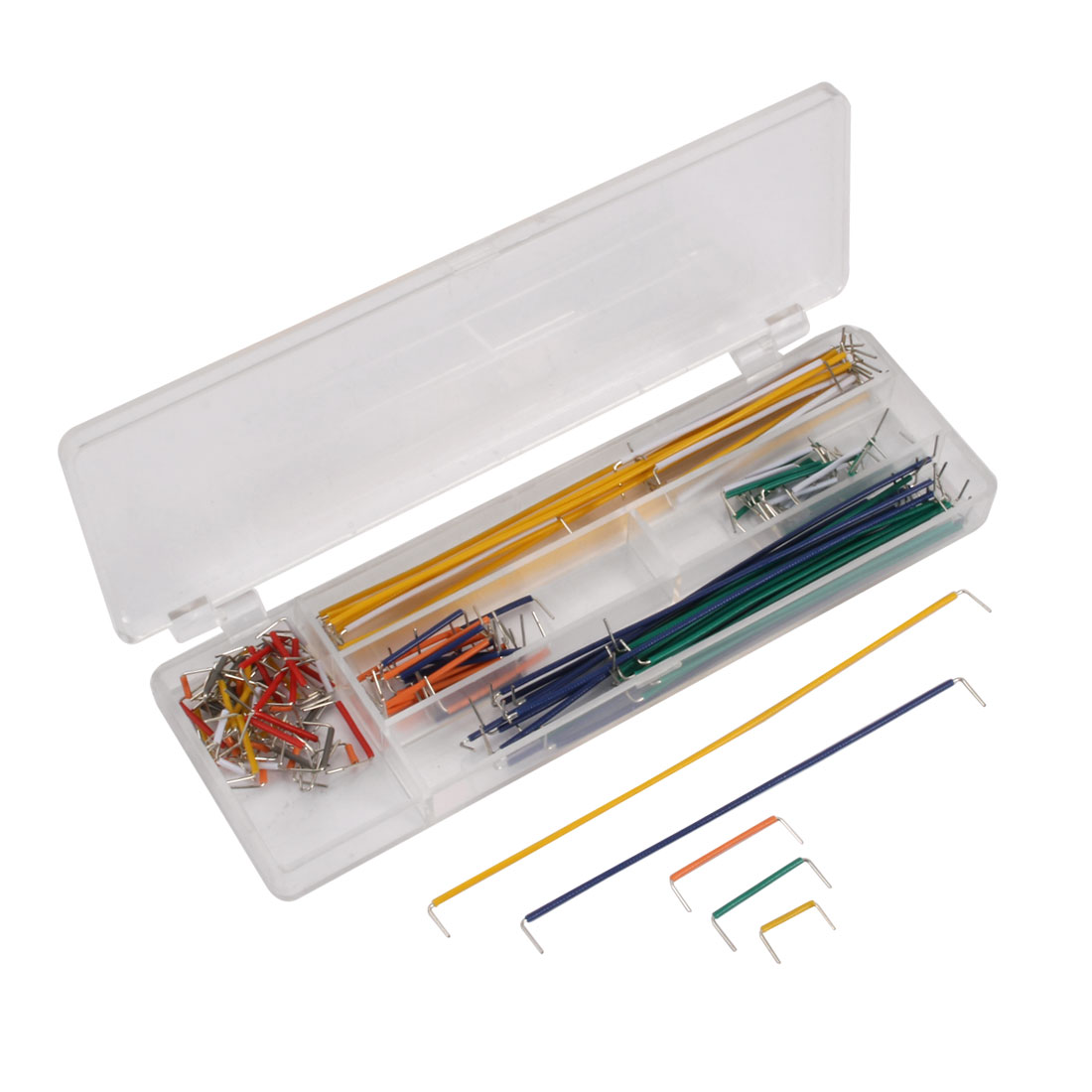 ZYJ-140 140 Pcs Solderless Breadboard Board Jumper Cable Wire Kit w Box