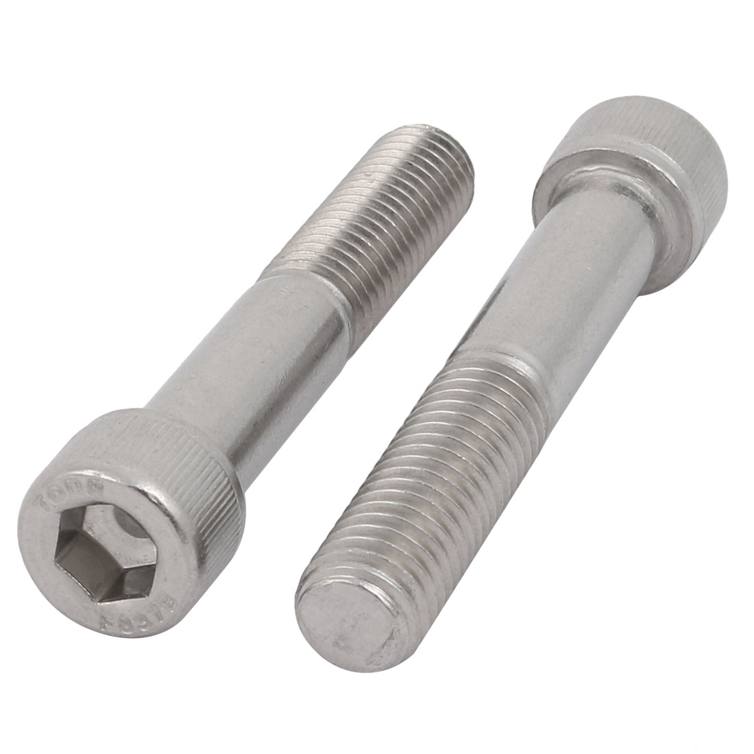 "1/2-13 x 3"" Stainless Steel Partially Threaded Hex Socket Head Cap Screw 2pcs"