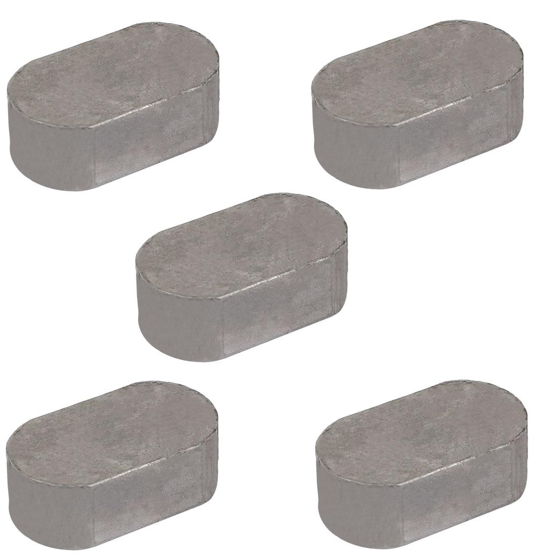 32mmx18mmx11mm Carbon Steel Key Stock To Lock Pulleys 5pcs