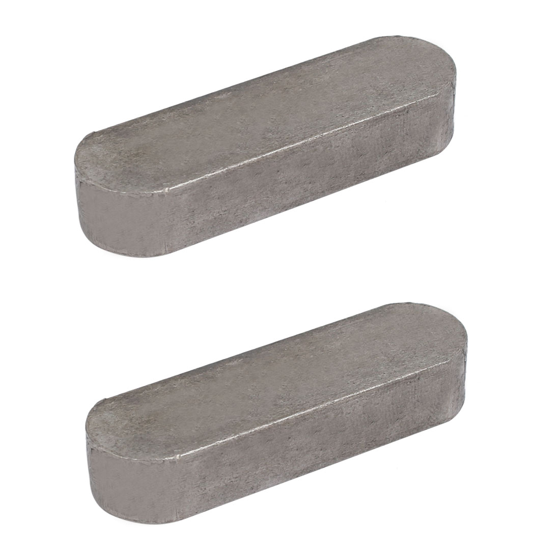 60mmx18mmx11mm Carbon Steel Key Stock To Lock Pulleys 2pcs