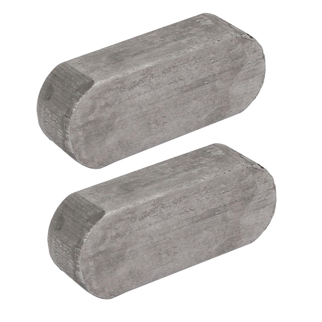 40mmx16mmx10mm Carbon Steel Key Stock To Lock Pulleys 2pcs