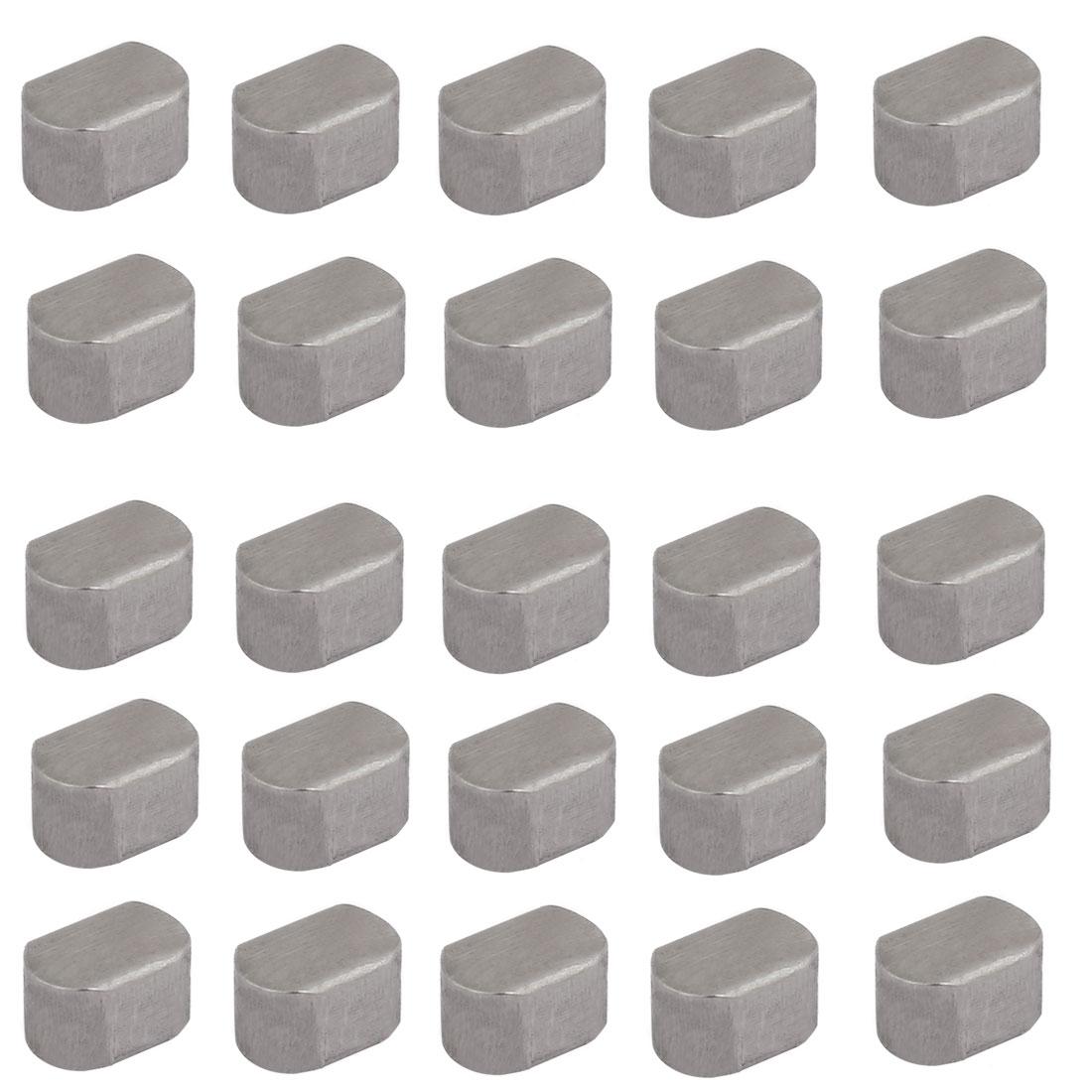 12mmx8mmx7mm Carbon Steel Key Stock To Lock Pulleys 25pcs