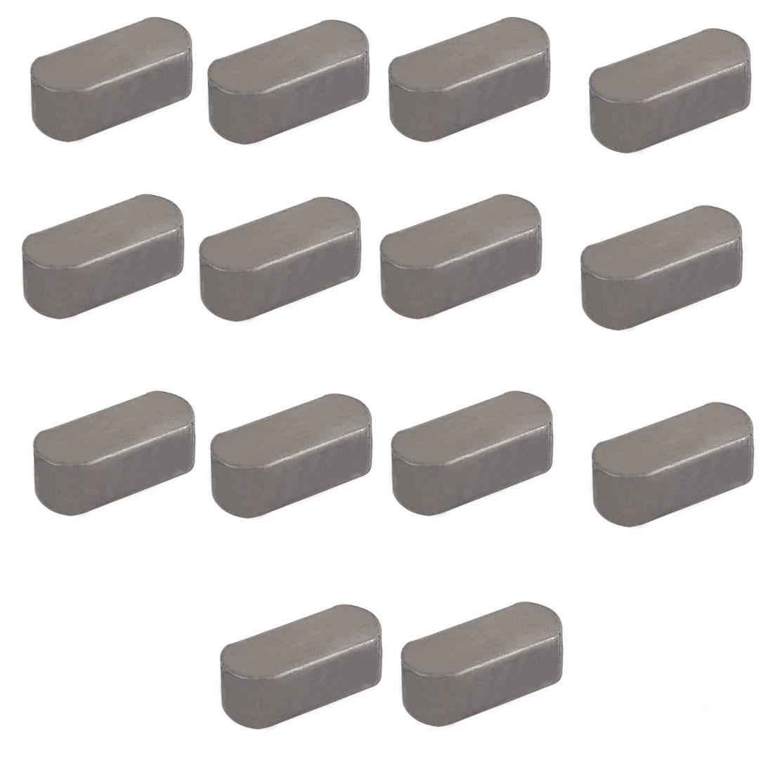 20mmx8mmx7mm Carbon Steel Key Stock To Lock Pulleys 14pcs