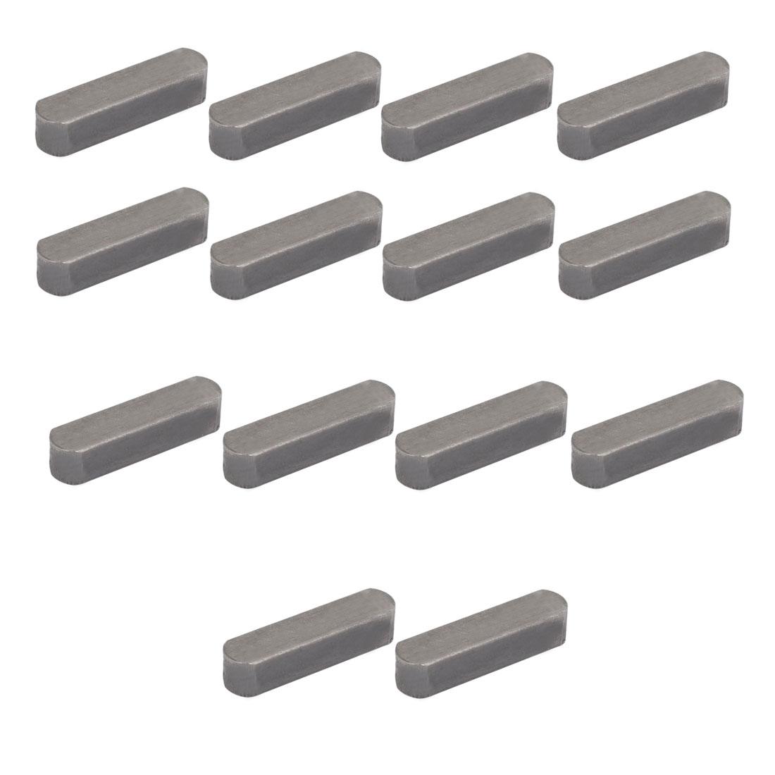 32mmx8mmx7mm Carbon Steel Key Stock To Lock Pulleys 14pcs