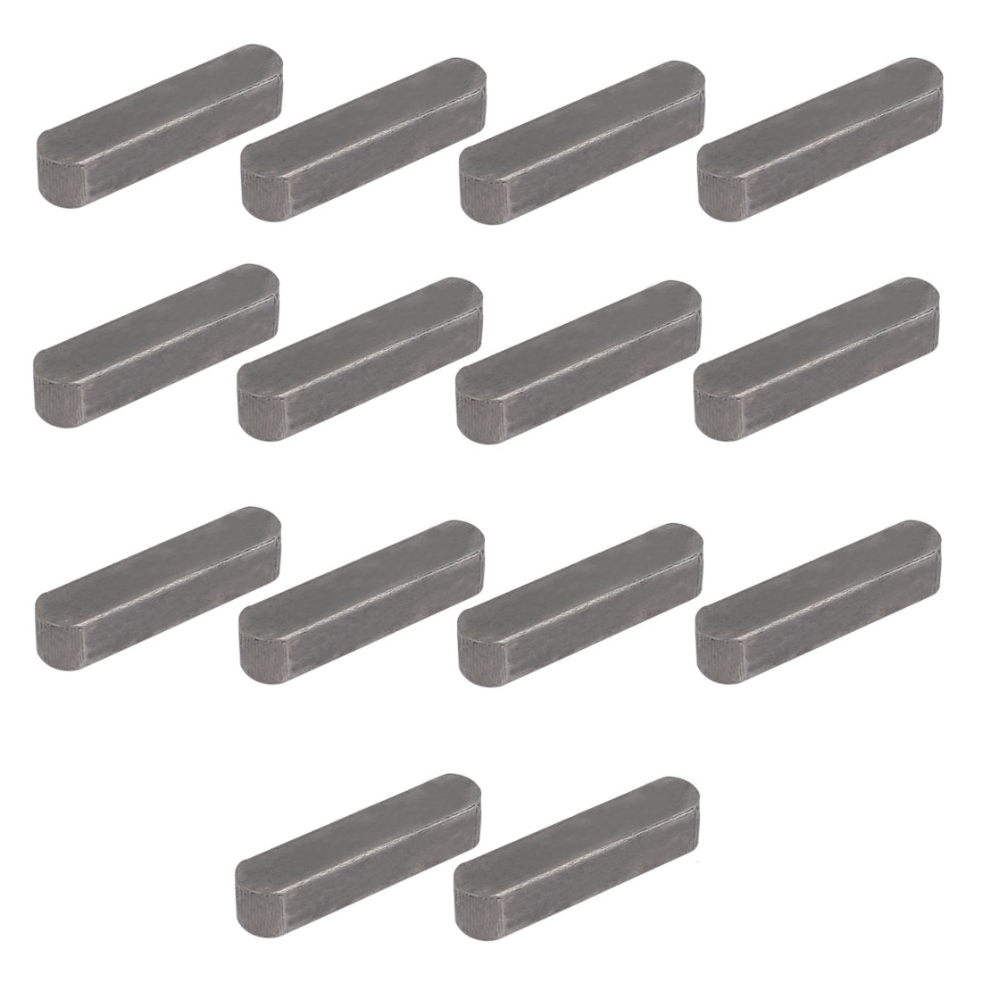 35mmx8mmx7mm Carbon Steel Key Stock To Lock Pulleys 14pcs
