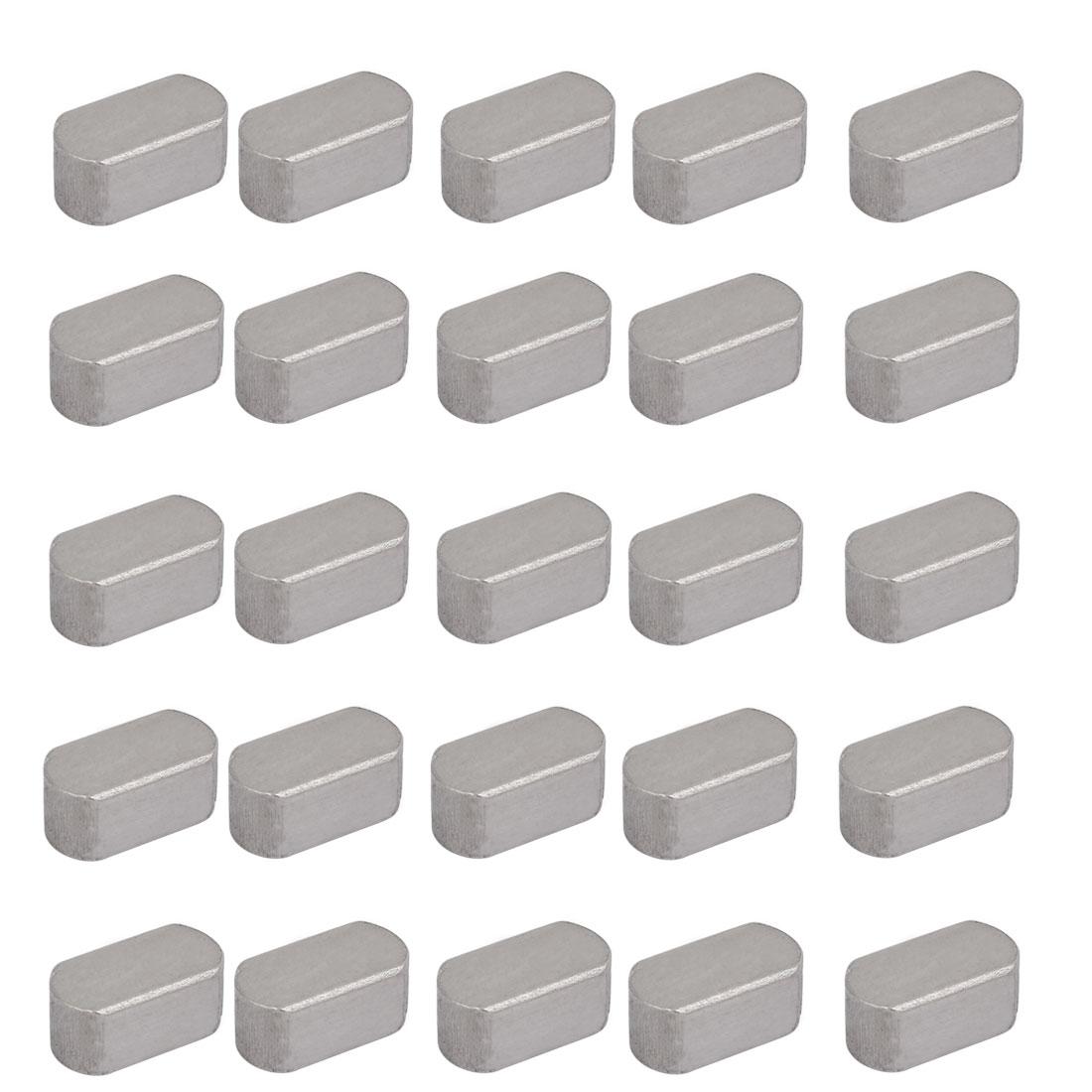 18mmx10mmx8mm Carbon Steel Key Stock To Lock Pulleys 25pcs
