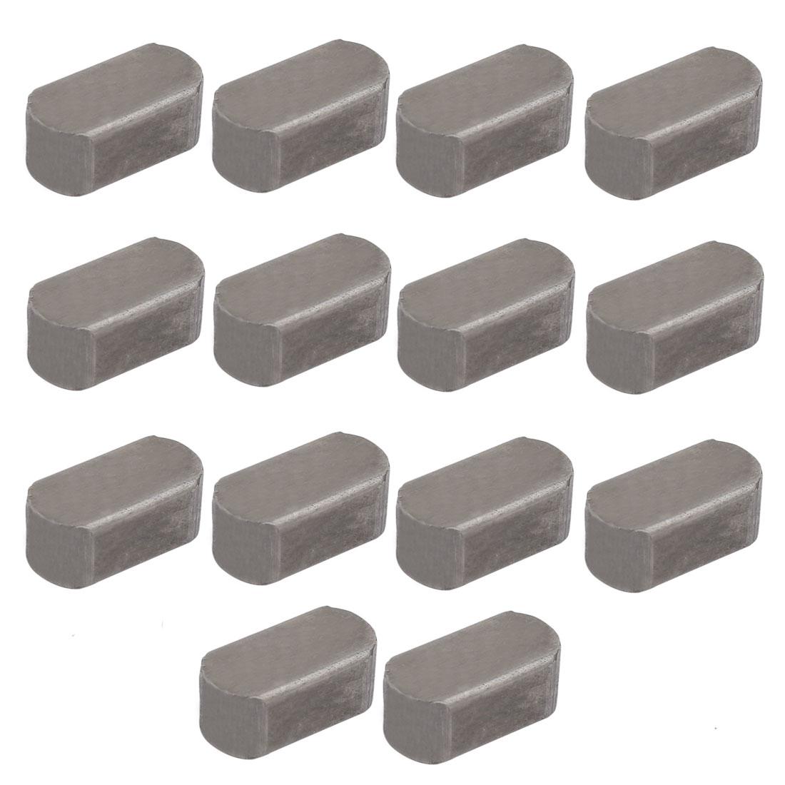 20mmx10mmx8mm Carbon Steel Key Stock To Lock Pulleys 14pcs