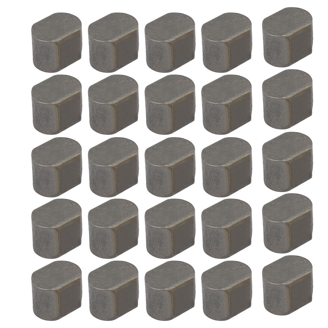 8mmx6mmx6mm Carbon Steel Key Stock To Lock Pulleys 25pcs