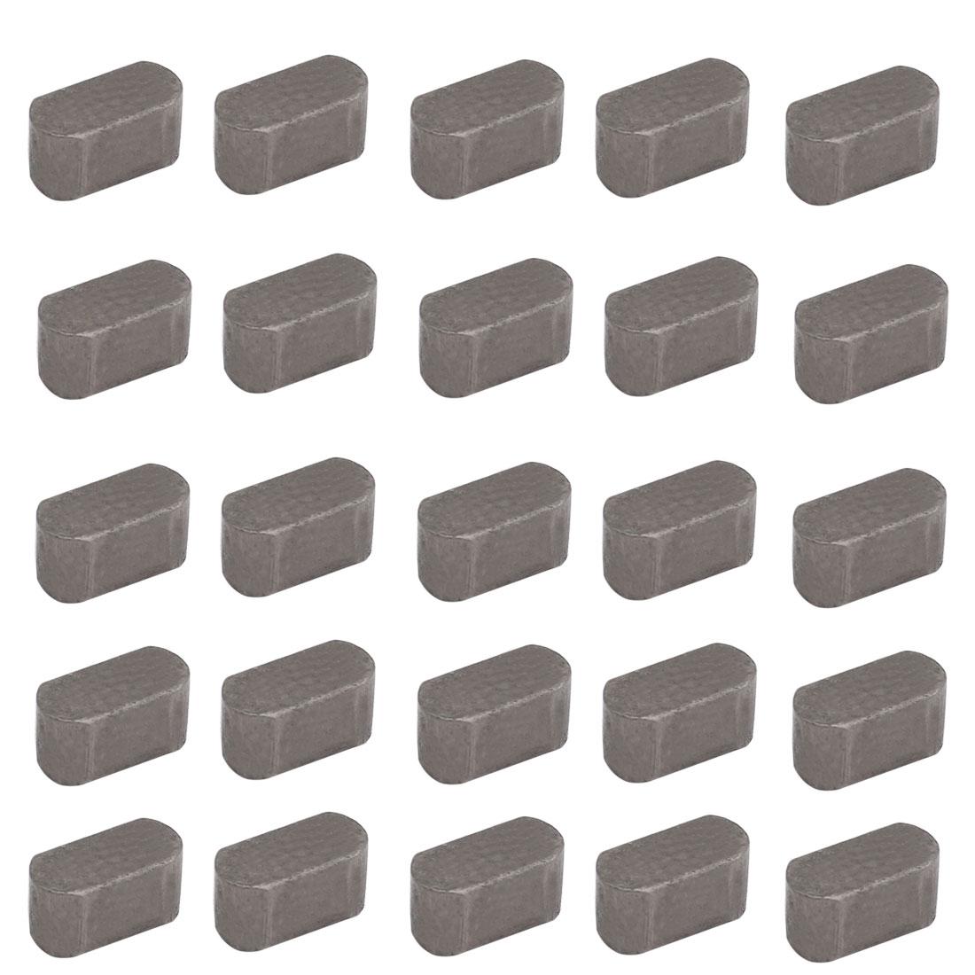 12mmx6mmx6mm Carbon Steel Key Stock To Lock Pulleys 25pcs