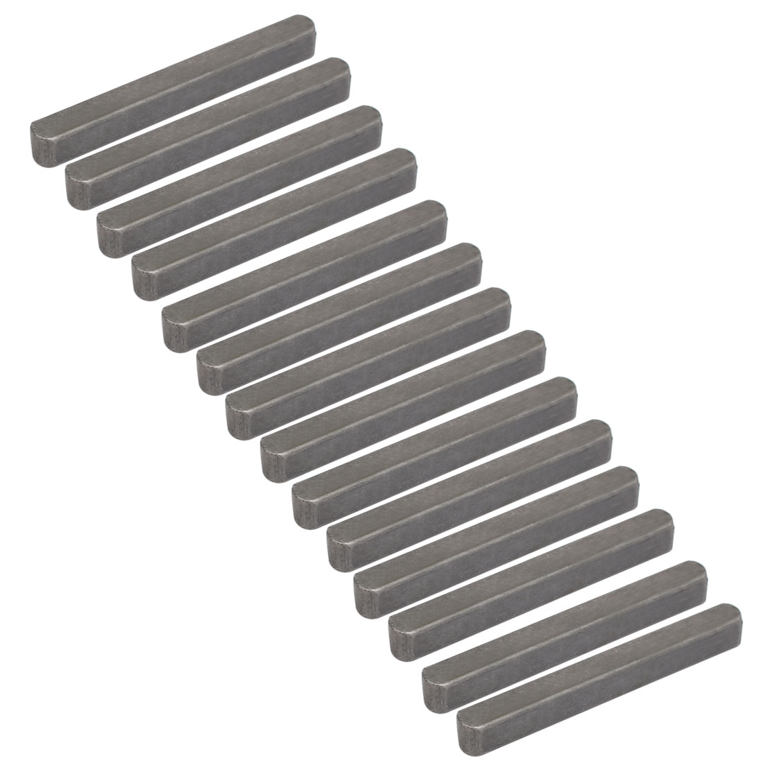 55mmx6mmx6mm Carbon Steel Key Stock To Lock Pulleys 14pcs
