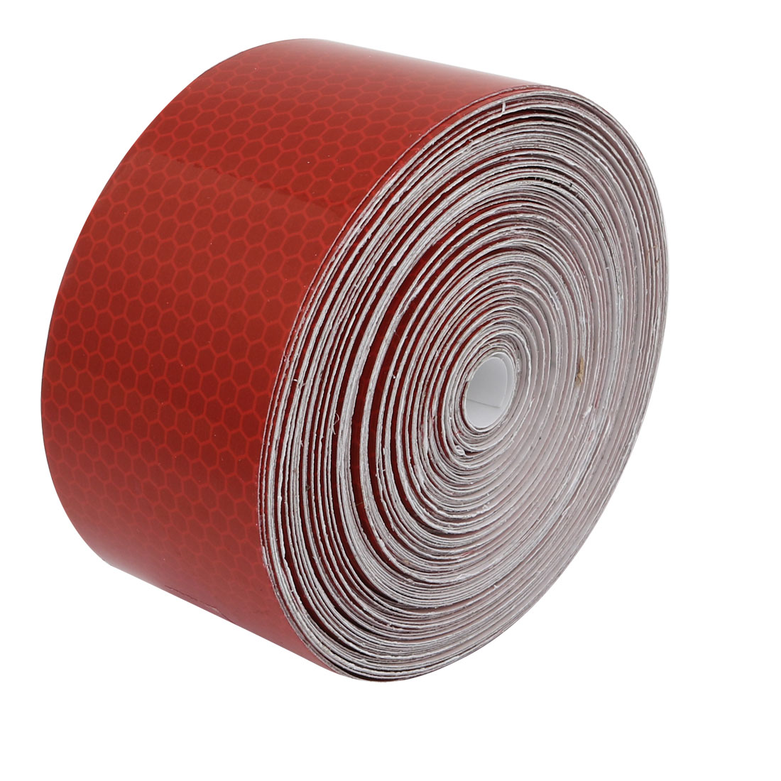 5cm Wide 15M Long Honeycomb Single Sided Adhesive Reflective Warning Tape Red