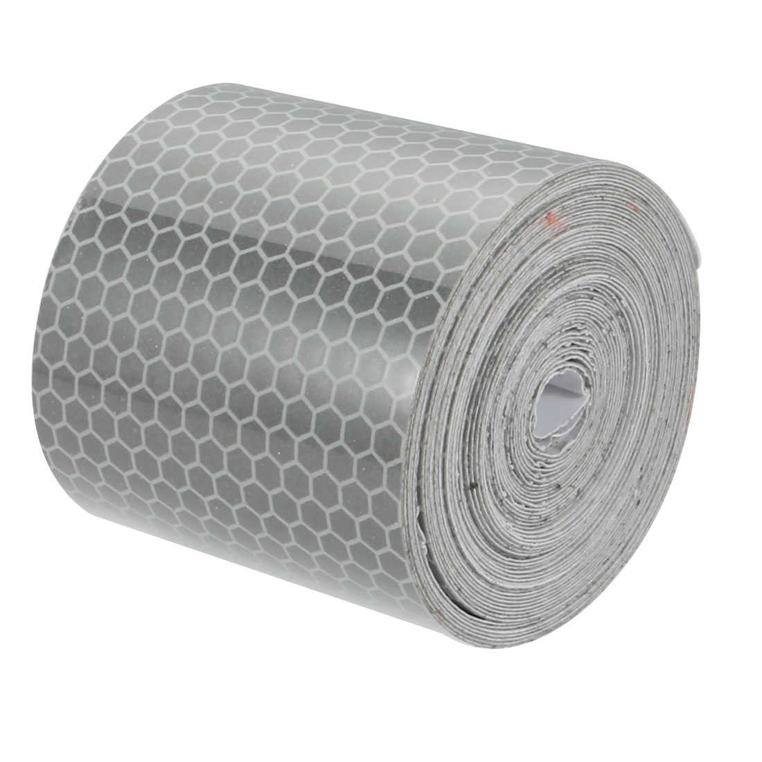 5cm Width 5M Long Honeycomb Adhesive Reflective Warning Tape Silvery White