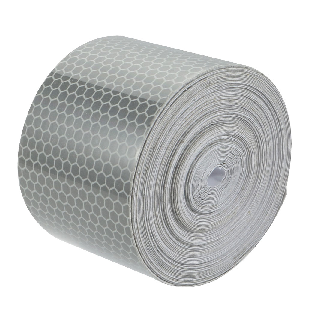 5cm Wide 10M Long Honeycomb Adhesive Reflective Warning Tape Silvery White