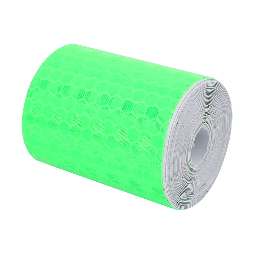 5cm Wide 2.5M Long Honeycomb Single Sided Adhesive Reflective Warning Tape Green