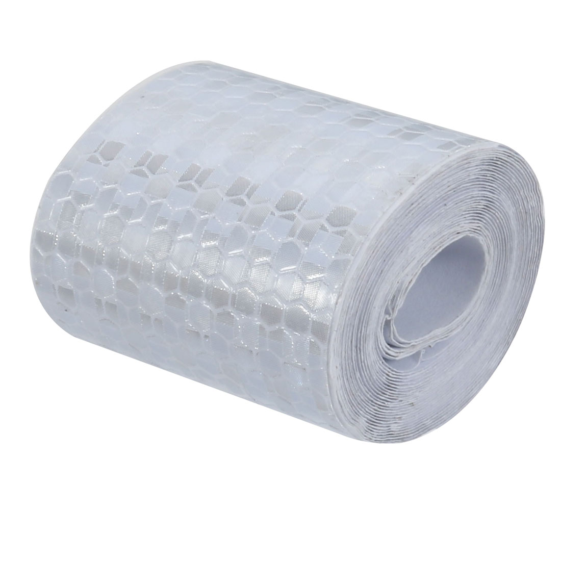 5cm Width 3Meter Long Honeycomb Adhesive Reflective Warning Tape Silvery White