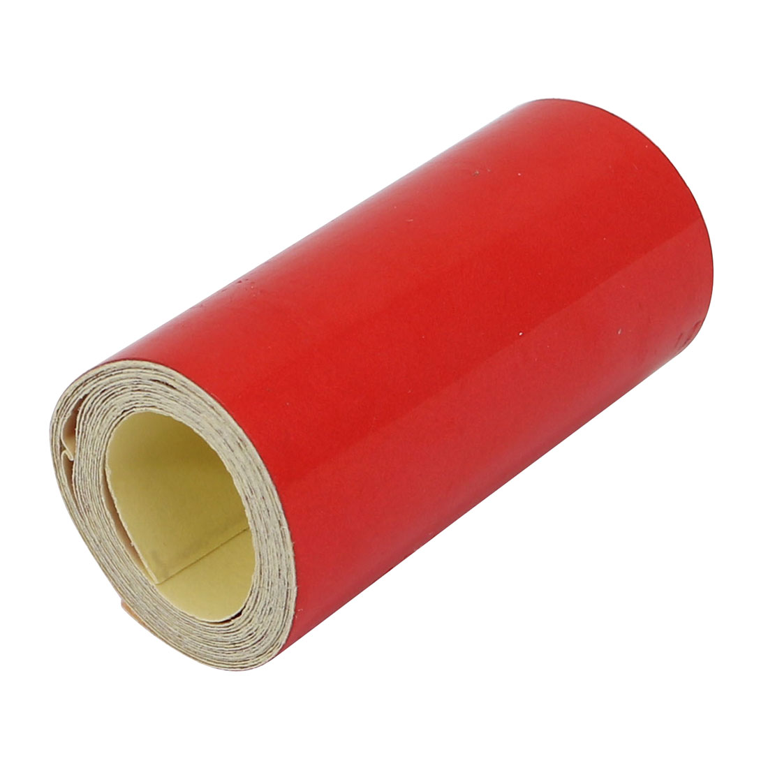 5cm Width 1M Length Single Sided Adhesive Reflective Warning Tape Red