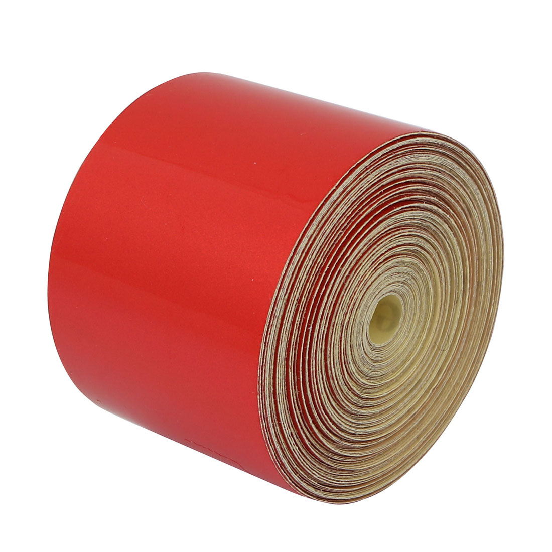 5cm Width 15M Length Single Sided Adhesive Reflective Warning Tape Red