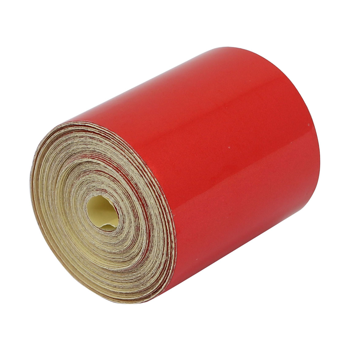 5cm Width 6M Length Single Sided Adhesive Reflective Warning Tape Red