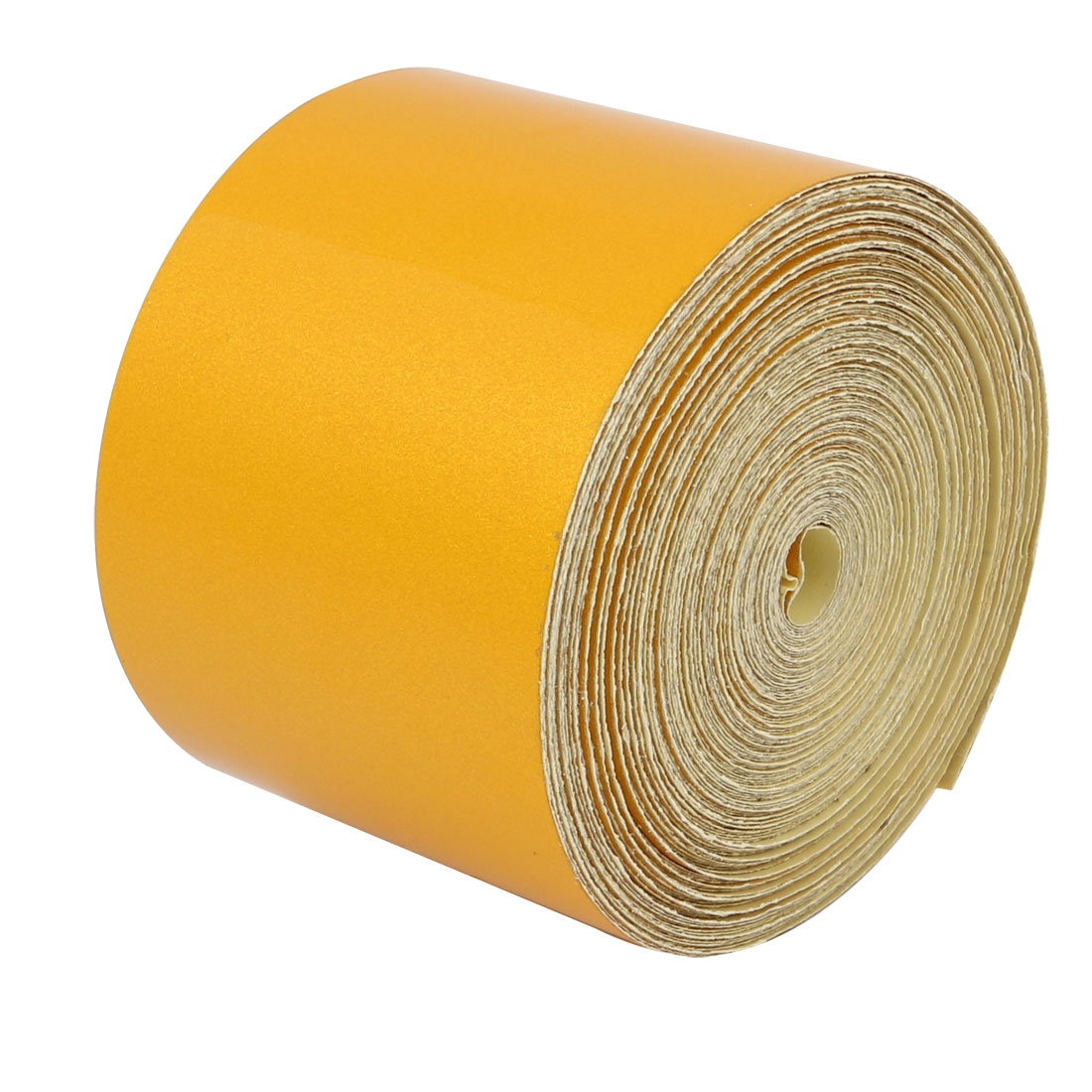 5cm Wide 15 Meters Long Single Sided Adhesive Reflective Warning Tape Yellow