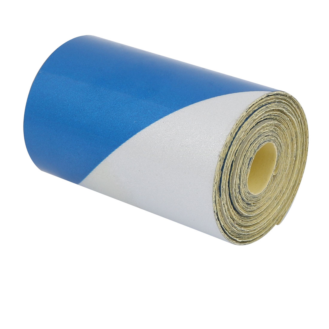 5cm Wide 3Meter Long Single Sided Adhesive Reflective Warning Tape Blue White