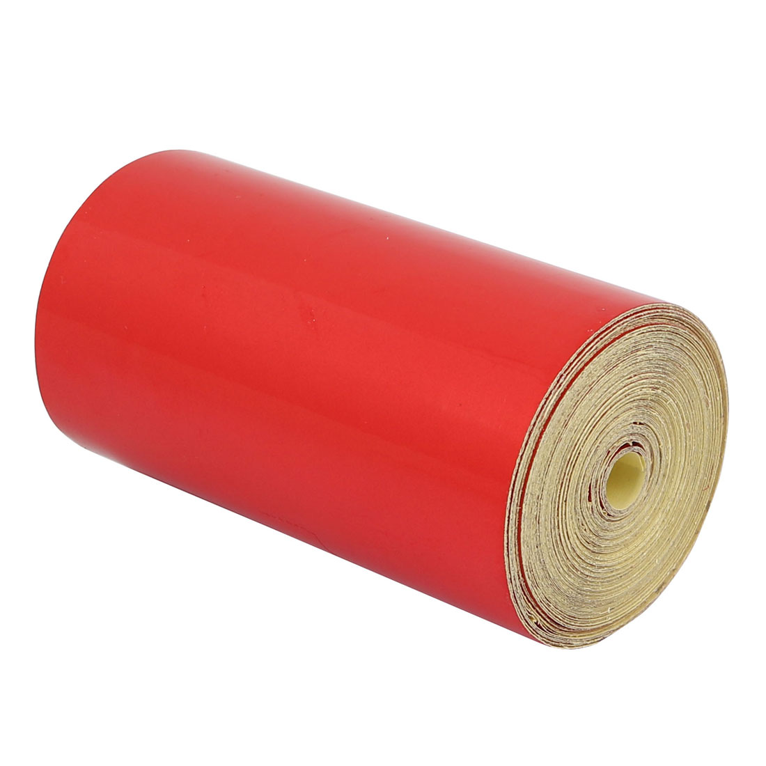 Single Sided Adhesive Reflective Warning Tape Red 10M Length 10cm Width