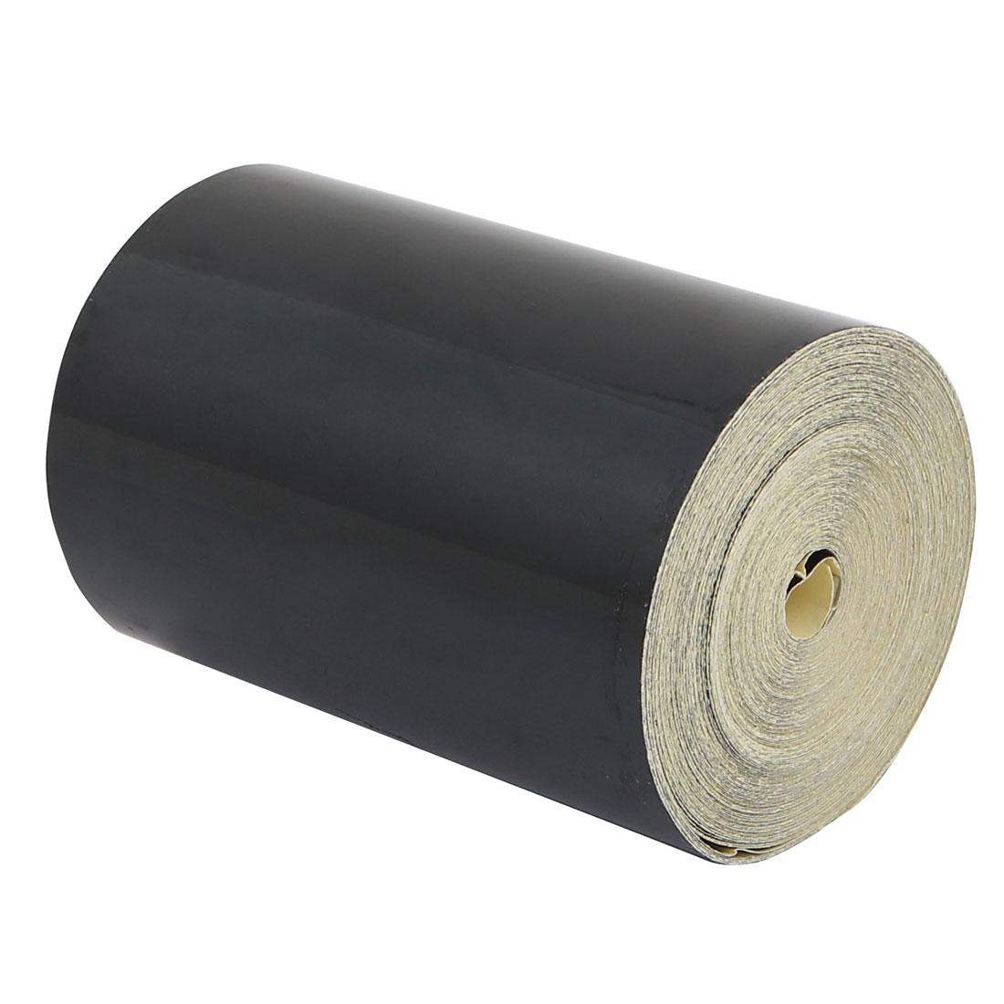Single Sided Adhesive Reflective Warning Tape Black 15M Length 10cm Width