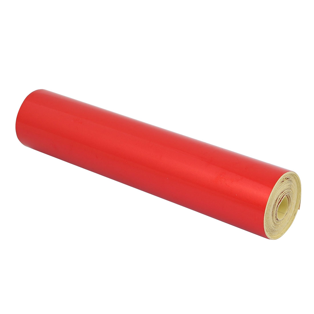 Single Sided Adhesive Reflective Warning Tape Red 5M Length 20cm Width