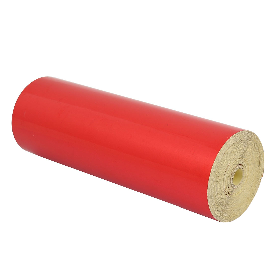 Single Sided Adhesive Reflective Warning Tape Red 15M Length 20cm Width
