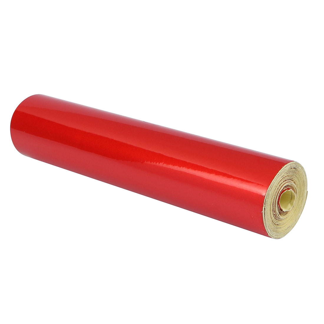20cm Width 6M Length Single Sided Adhesive Reflective Warning Tape Red