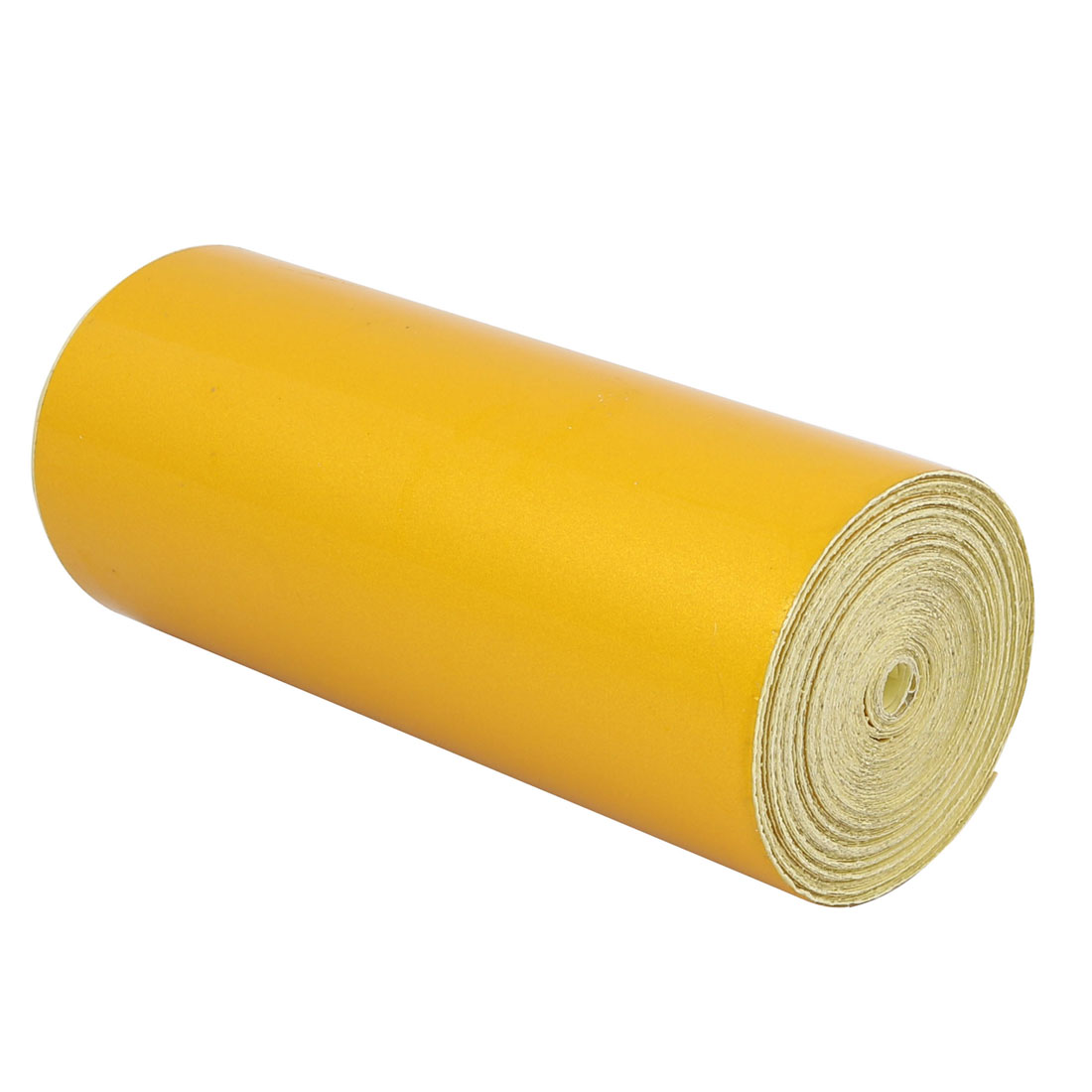 Single Sided Adhesive Reflective Warning Tape Yellow 15M Length 15cm Width
