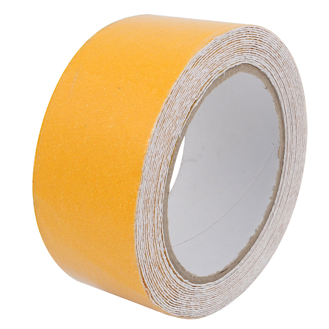 5cm Wide 5 Meters Long Adhesive Grit Anti Slip Tape Yellow for Stairs Floor