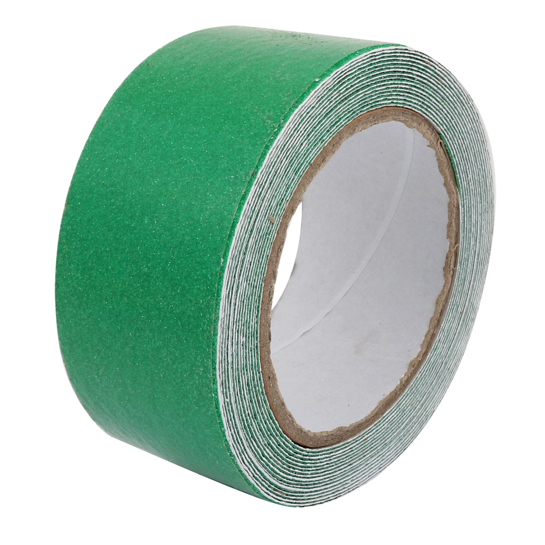 5cm Wide 5 Meters Long Adhesive Grit Anti Slip Tape Green for Stairs Floor