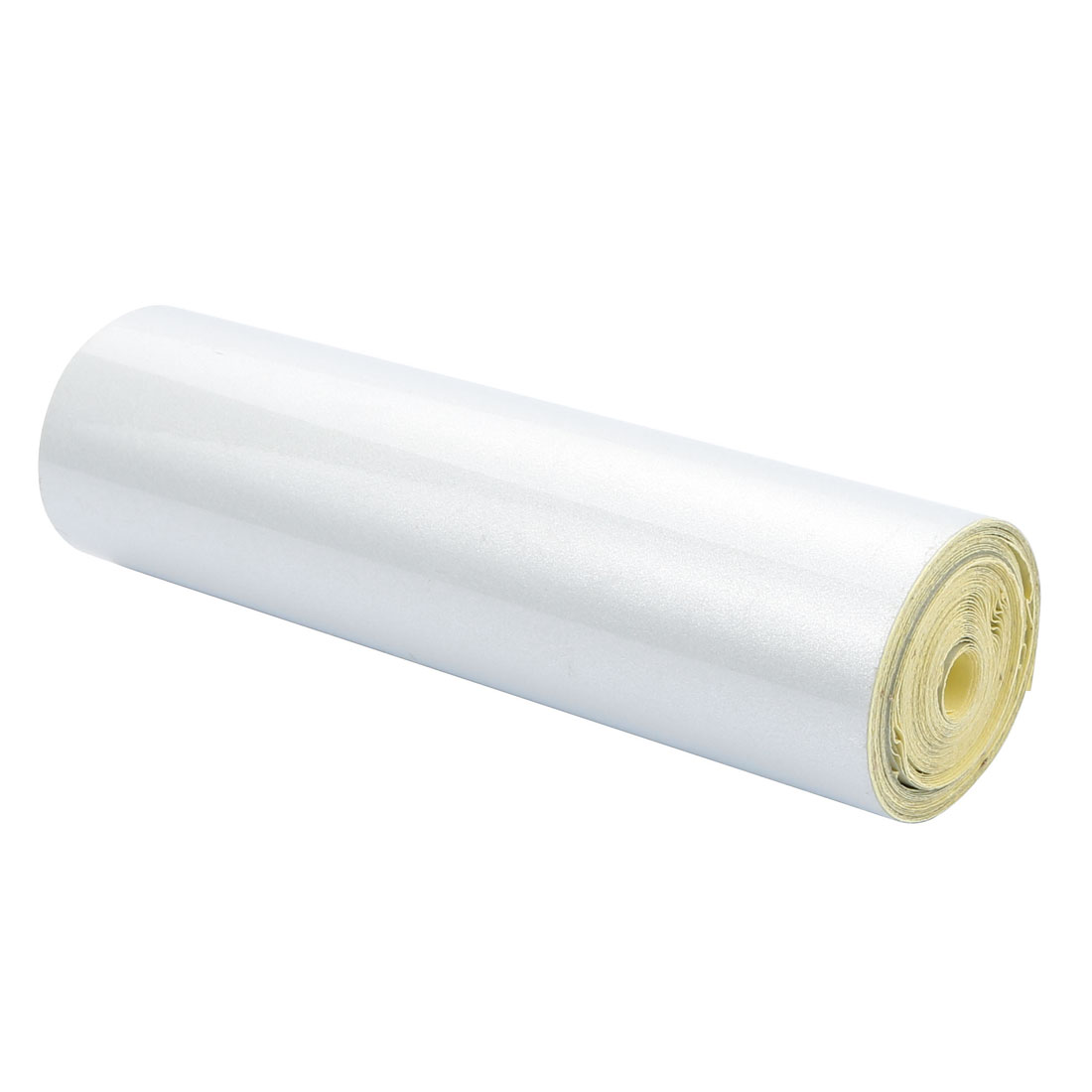 15cm Width 5M Length Single Sided Adhesive Reflective Warning Tape White