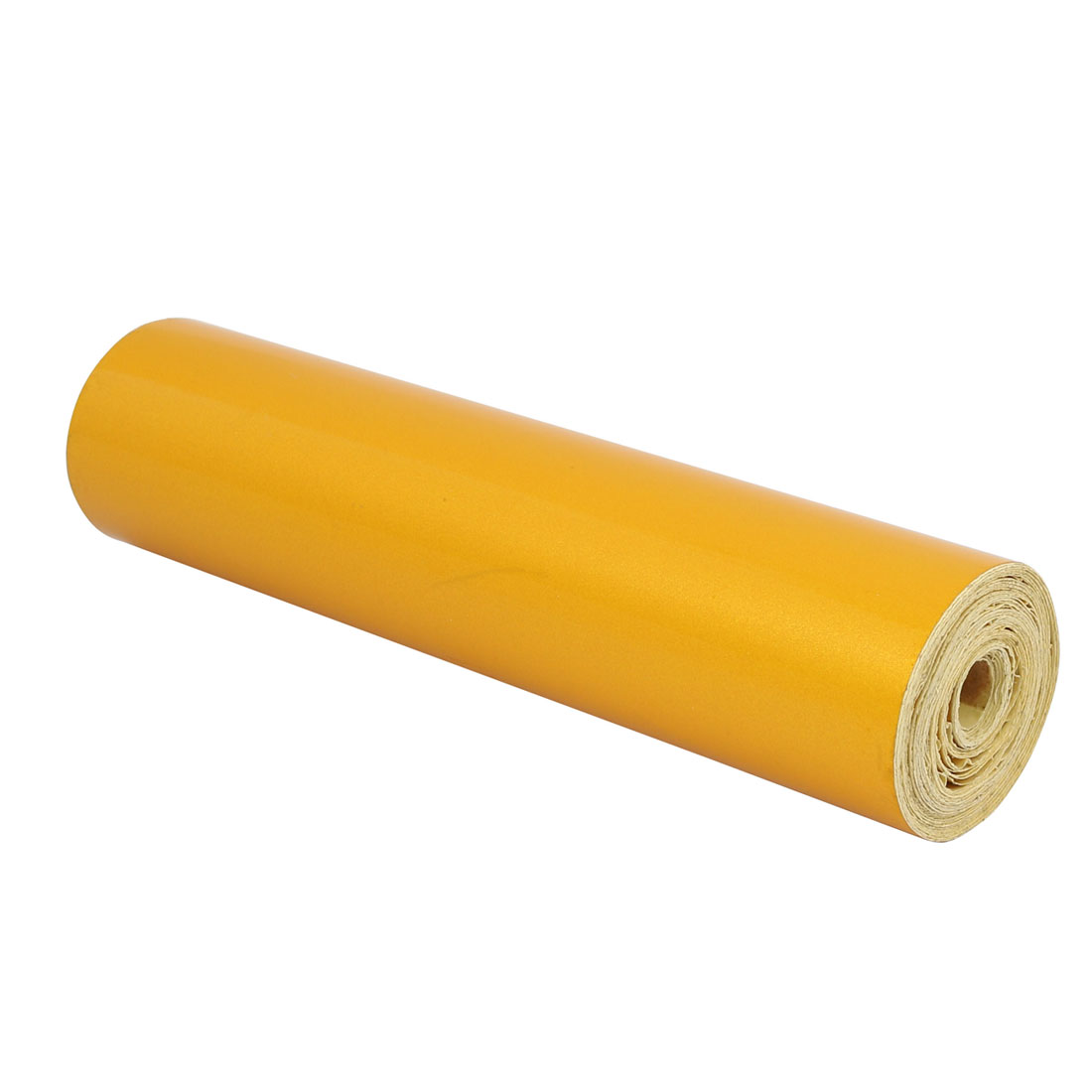 Single Sided Adhesive Reflective Warning Tape Yellow 6.2M Length 20cm Width