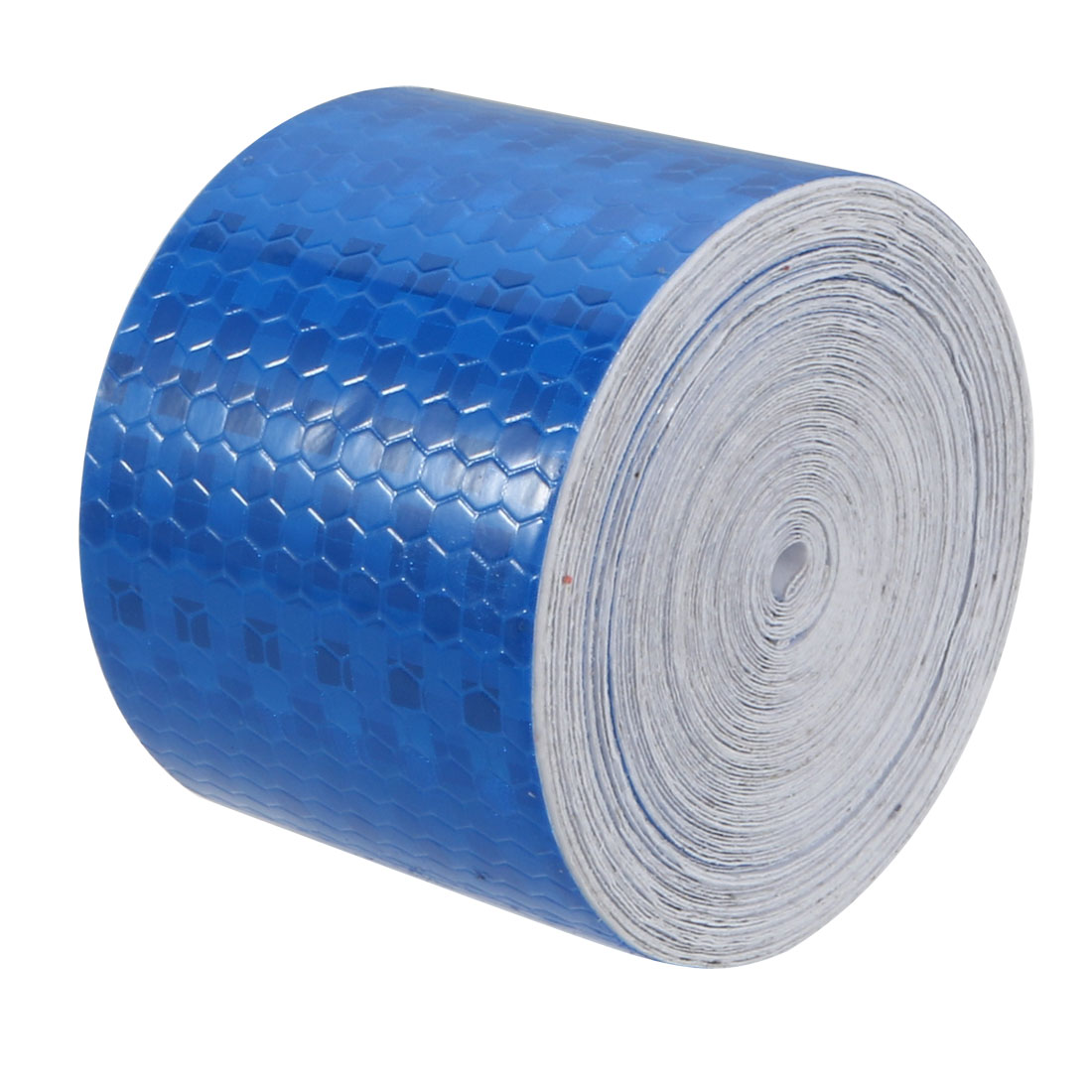 5cm Width 10Meter Length Honeycomb Adhesive Reflective Warning Tape Blue