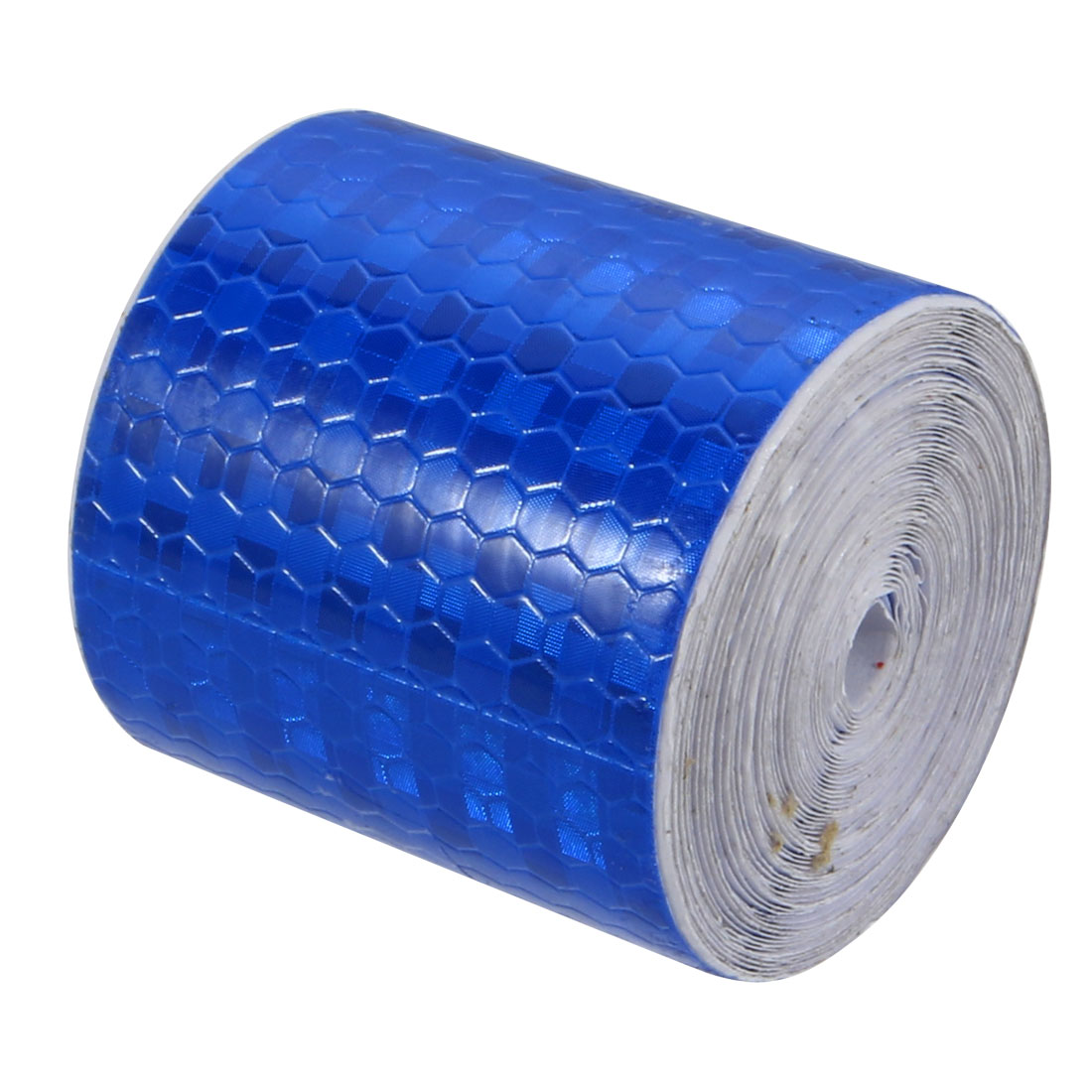 5cm Width 4Meter Length Honeycomb Adhesive Reflective Warning Tape Blue