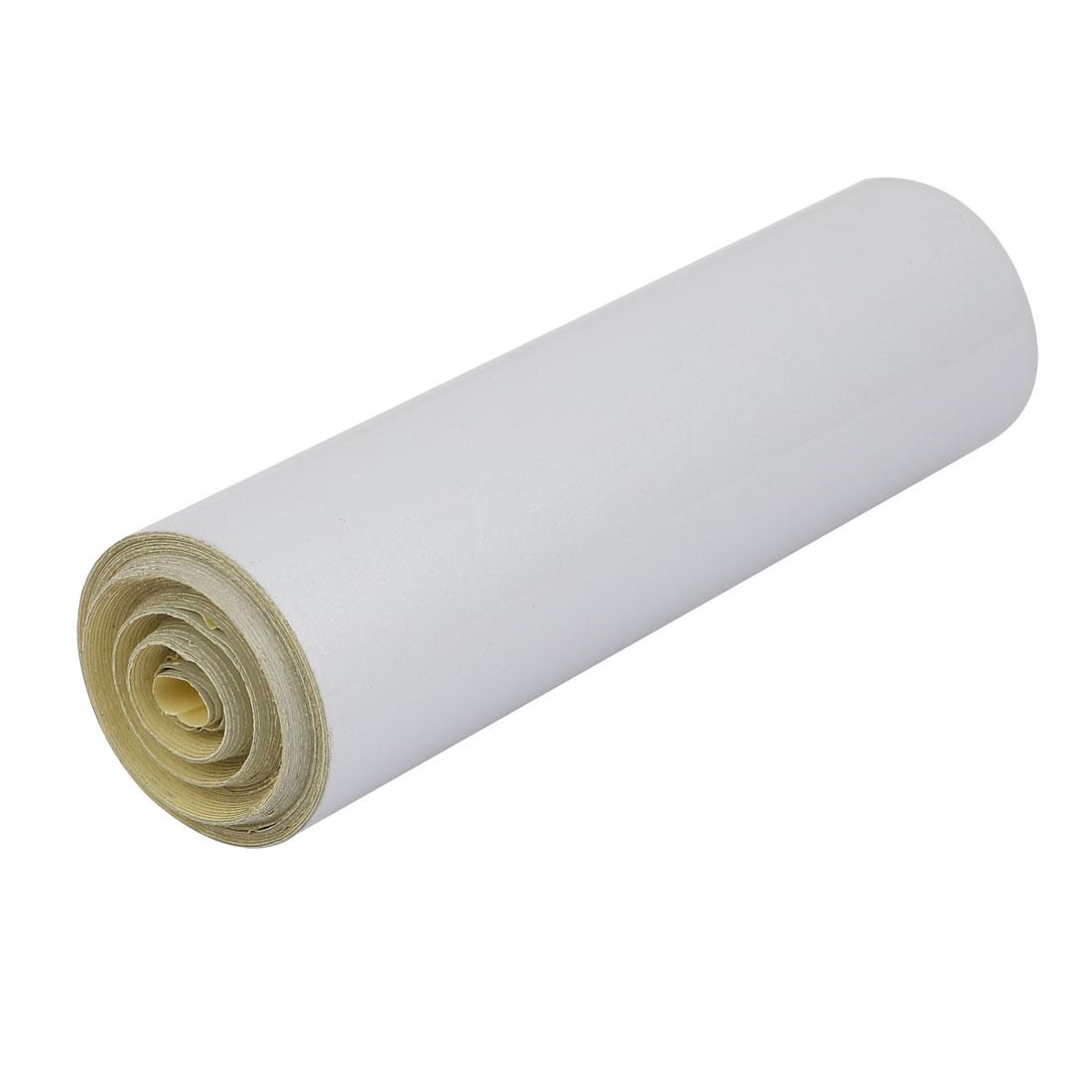20cm Width 10M Length Single Sided Adhesive Reflective Warning Tape White