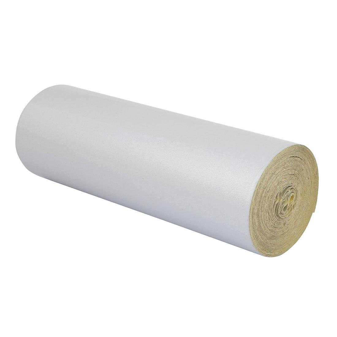 Single Sided Adhesive Reflective Warning Tape White 15M Length 20cm Width