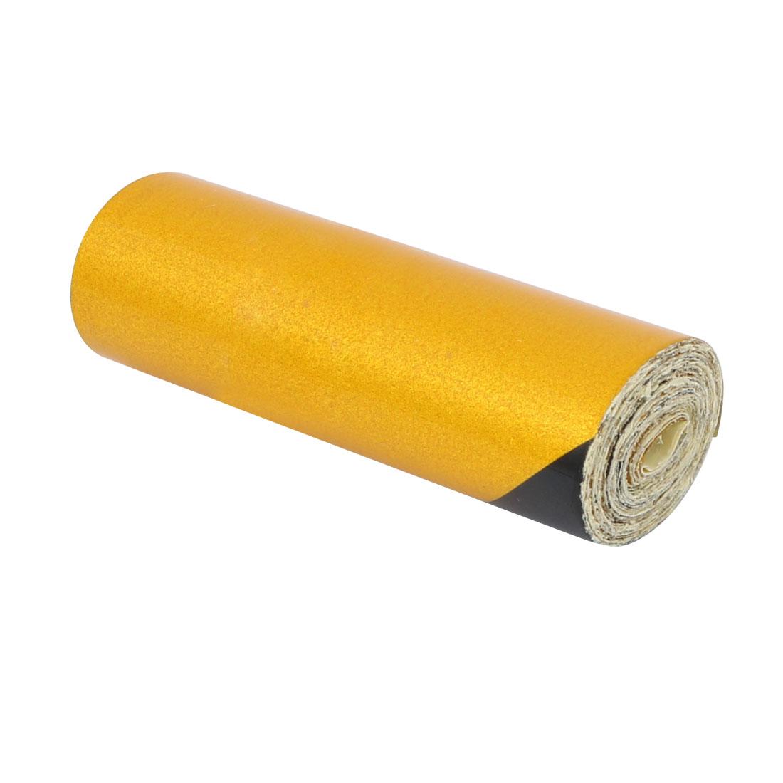 5cm Wide 1M Long Single Sided Adhesive Reflective Warning Tape Yellow Black