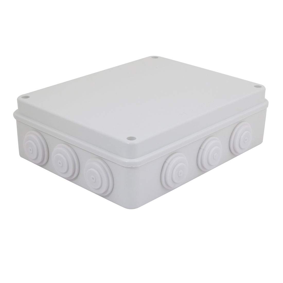 255mmx200mmx80mm Electronic ABS Plastic DIY Junction Box Enclosure Case Gray