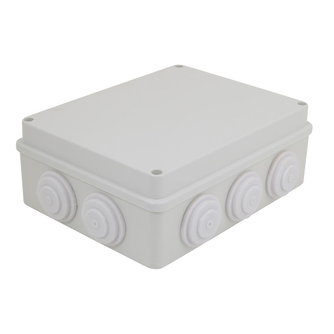 200mmx155mmx80mm Electronic ABS Plastic DIY Junction Box Enclosure Case Gray