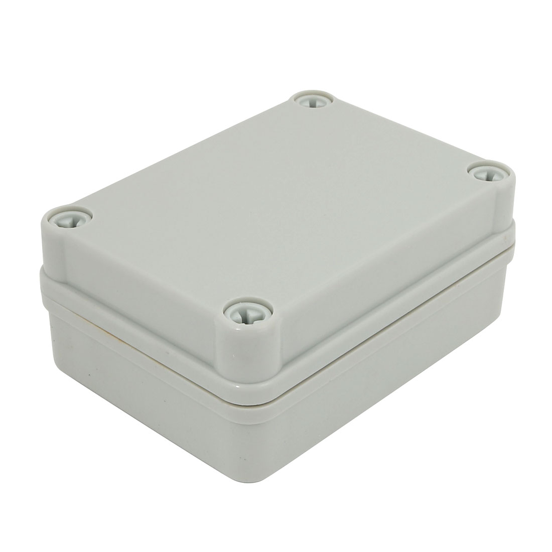 110mm x 80mm x 45mm Electronic ABS Plastic DIY Junction Electrical Box Case Gray