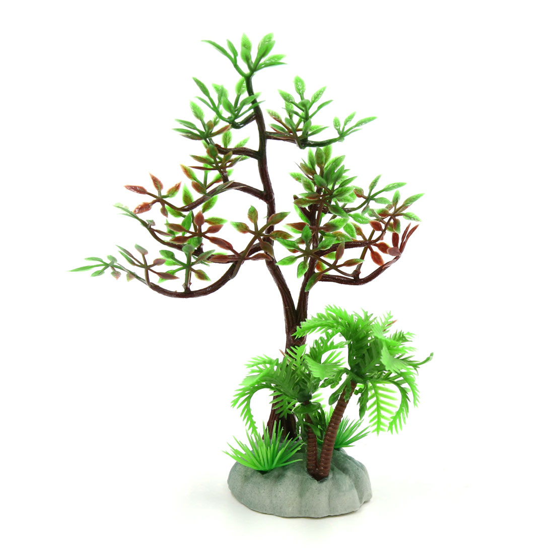 Plastic Plant Aquarium Fishbowl Decoration Ornament for Small Tanks