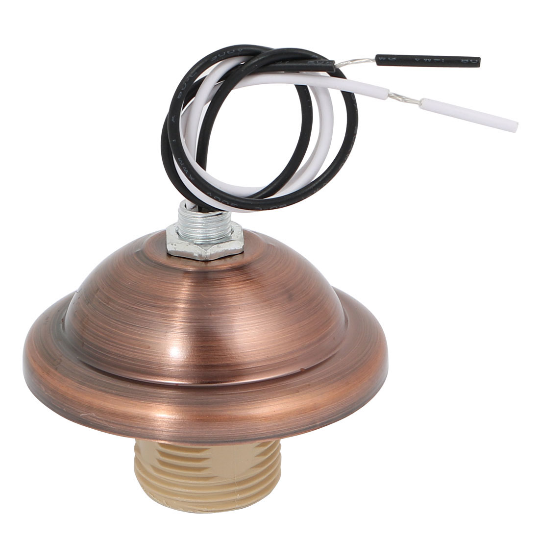 E14 Screw Bulb Base Light Socket Edison Retro Pendant Lamp Holder Red Bronze