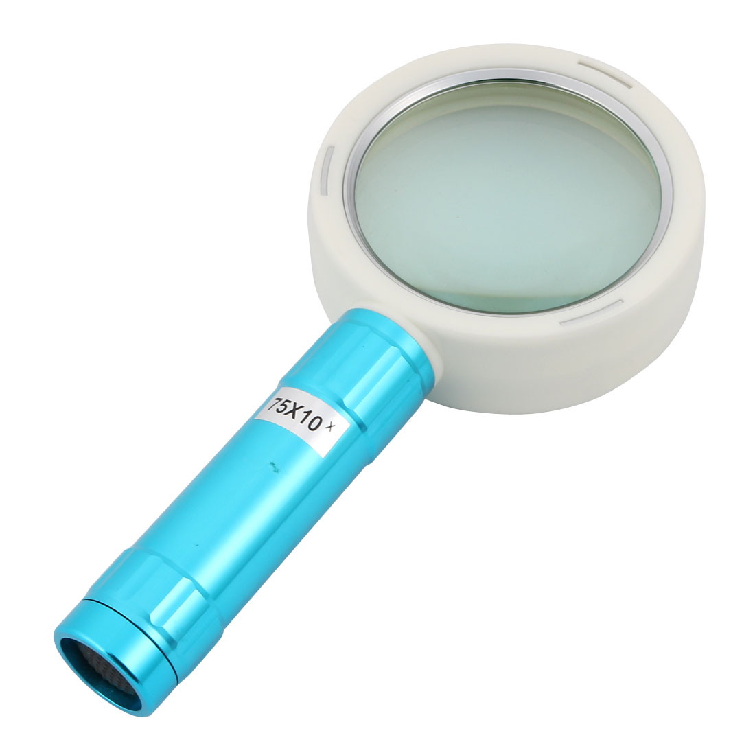 10 LED Light Blue Handle Illuminated Magnifier Magnifying Glass 10X
