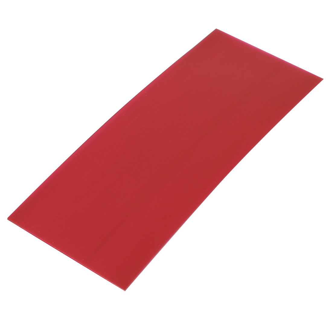 29.5mm Flat Width 72mm Long PVC Heat Shrinkable Tube Dark Red for 18650 Battery