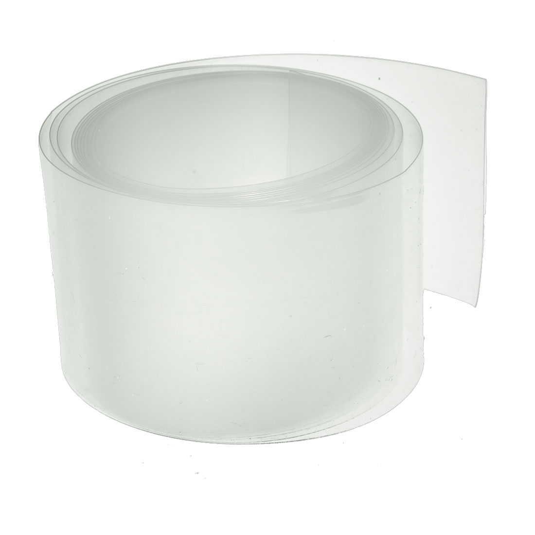45mm Flat Width 2M Length PVC Heat Shrinkable Tube Clear for Capacitive Battery