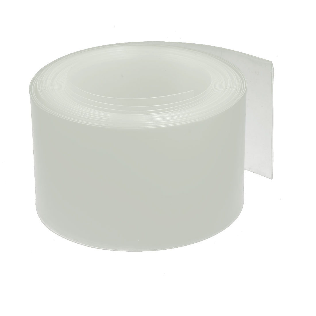 45mm Flat Width 5M Length PVC Heat Shrinkable Tube Clear for Capacitive Battery