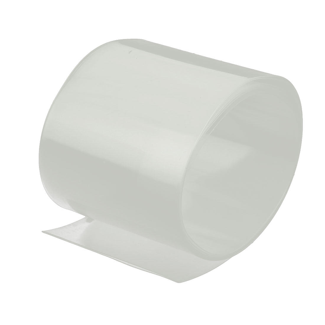 50mm Flat Width 1M Length PVC Heat Shrinkable Tube Clear for Capacitive Battery
