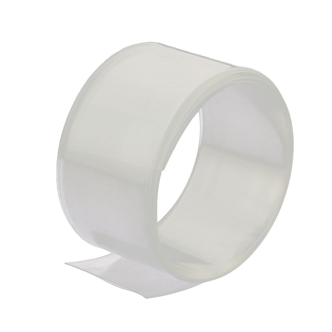 31mm Flat Width 1M Length PVC Heat Shrinkable Tube Clear for Capacitive Battery